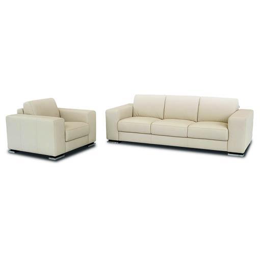 Single Sofa Set Designs: Buy Cream Color Single & Triple Sitting Sofa Set At