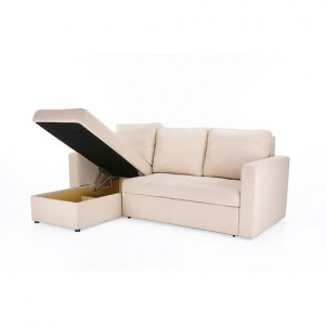 Left Chaise Sofa Cum Bed with Storage
