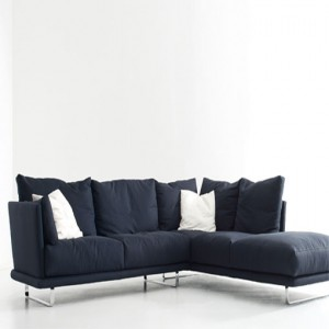 Black L Shaped Sofa