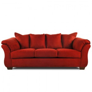 3 seater burn sofa