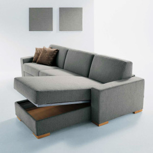 convertible futon sofa bed with right chaise