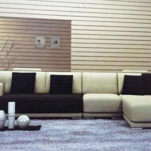 Italian Sectional L Shaped Sofa Set
