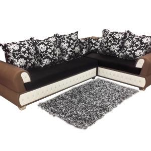 Right Side Carolina L Shaped Sofa