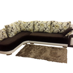Left Handed Lorial L Shaped Sofa Set