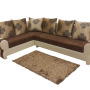 Left Side Lyssum L Shaped Sofa Set