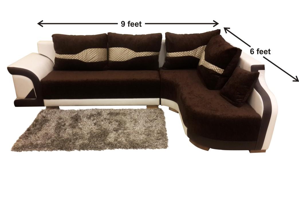 Buy Right Side Mushy L Shaped Sofa Set At OnlineSofaDesign