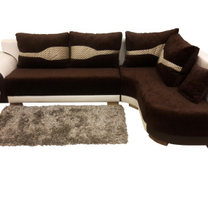 Right Side Mushy L Shaped Sofa Set